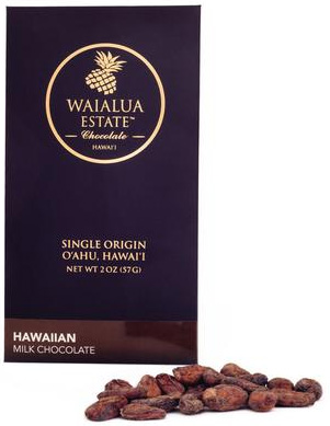 Hawaii Grown - Milk Chocolate (50% Cacao) - $10/bar