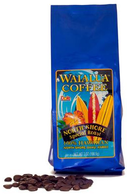 Hawaii Grown -North Shore Dark Roast - $17/bag
