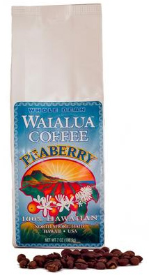 Hawaii Grown -Peaberry - $21/bag