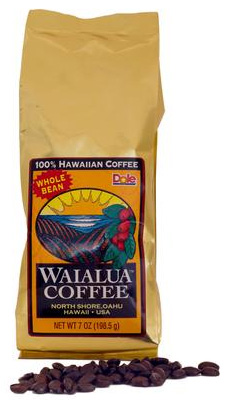Hawaii Grown - Sunrise Lite to Medium Roast - $17/bag
